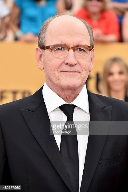 Actor Richard Jenkins attends TNT's 21st Annual Screen Actors Guild Awards at The Shrine Auditorium on January 25 2015 in Los Angeles California...
