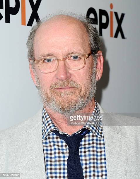 Actor Richard Jenkins of 'Berlin Station' attends the EPIX TCA presentation at The Beverly Hilton Hotel on July 30 2016 in Beverly Hills California