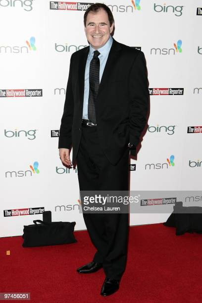 Actor Richard Kind arrives at The Hollywood Reporter Reception Honoring Oscar Nominees at The Getty House on March 4 2010 in Los Angeles California