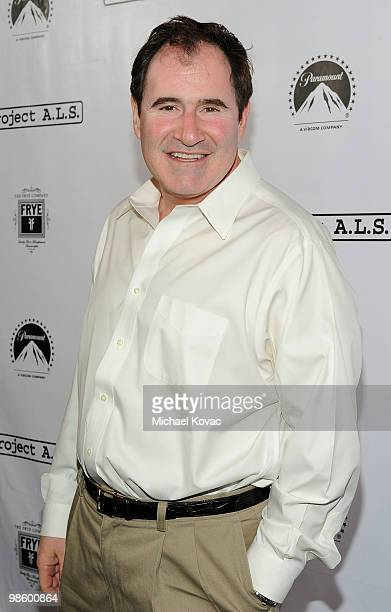 Actor Richard Kind arrives at the Project ALS LA Benefit hosted by Ben Stiller Friends at Lucky Strike Bowling Alley on April 21 2010 in Hollywood...