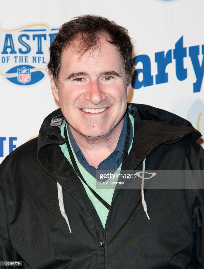 Actor Richard Kind arrives at the Taste Of The NFL 'Party With A Purpose' at Brooklyn Cruise Terminal on February 1, 2014 in New York City.