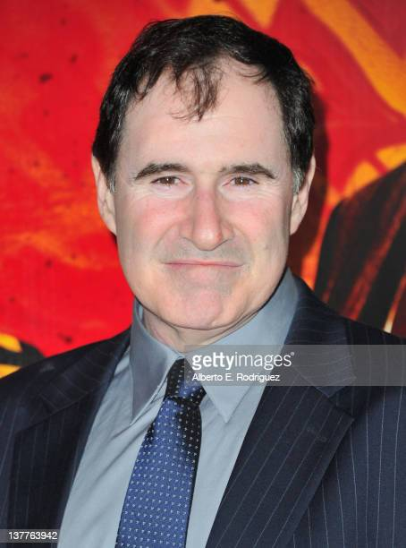 Actor Richard Kind arrives to the premiere of HBO's new series 'Luck' at Grauman's Chinese Theatre on January 25 2012 in Hollywood California