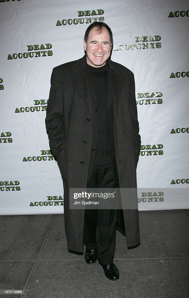 Actor <a gi-track='captionPersonalityLinkClicked' href=/galleries/search?phrase=Richard+Kind&family=editorial&specificpeople=216578 ng-click='$event.stopPropagation()'>Richard Kind</a> attends 'Dead Accounts' Broadway Opening Night at Music Box Theatre on November 29, 2012 in New York City.