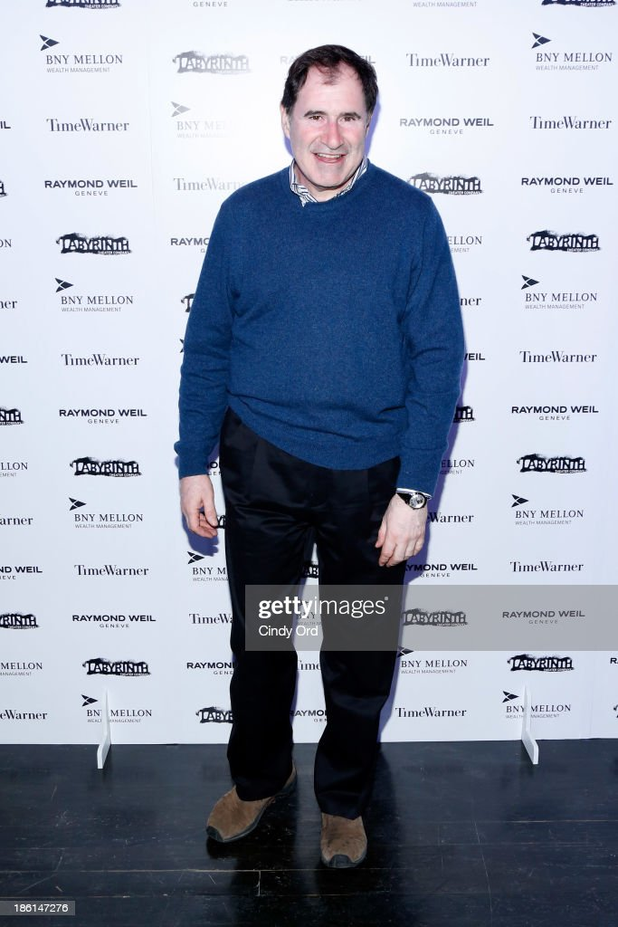 Actor <a gi-track='captionPersonalityLinkClicked' href=/galleries/search?phrase=Richard+Kind&family=editorial&specificpeople=216578 ng-click='$event.stopPropagation()'>Richard Kind</a> attends LAByrinth Theater Company Celebrity Charades 2013 Benefit Gala on October 28, 2013 in New York City.