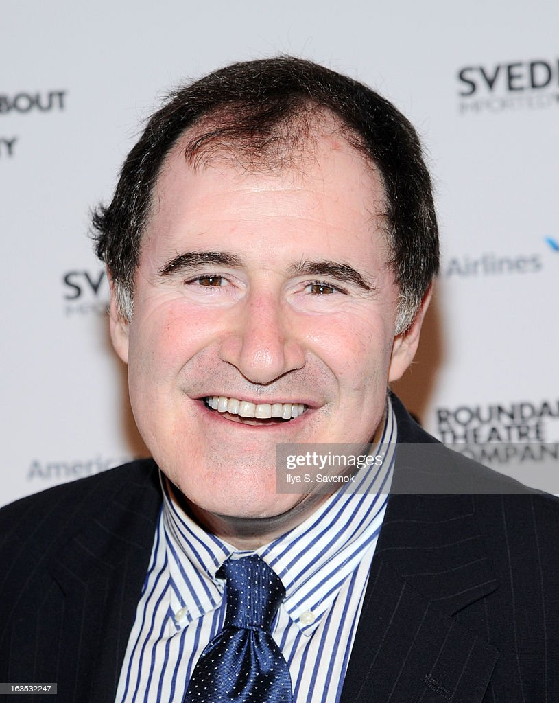Actor <a gi-track='captionPersonalityLinkClicked' href=/galleries/search?phrase=Richard+Kind&family=editorial&specificpeople=216578 ng-click='$event.stopPropagation()'>Richard Kind</a> attends the 2013 Roundabout Theatre Company Spring Gala at Hammerstein Ballroom on March 11, 2013 in New York City.