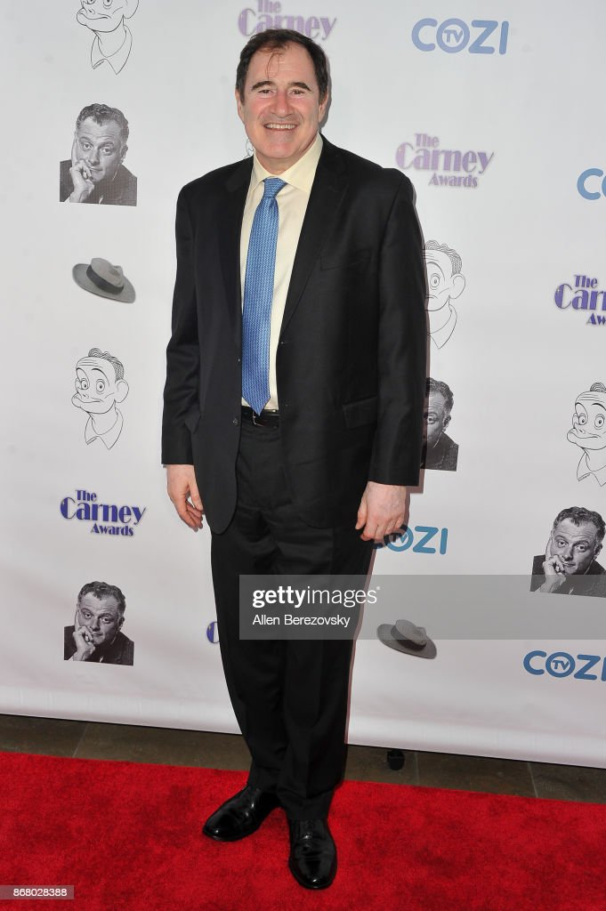 Actor Richard Kind attends the 3rd Annual Carney Awards at The Broad Stage on October 29, 2017 in Santa Monica, California.