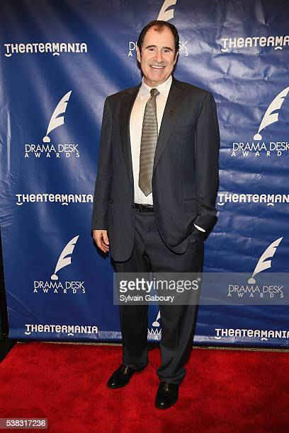 Actor Richard Kind attends The 61st Annual Drama Desk Awards Arrivals at Anita's Way on June 5 2016 in New York City