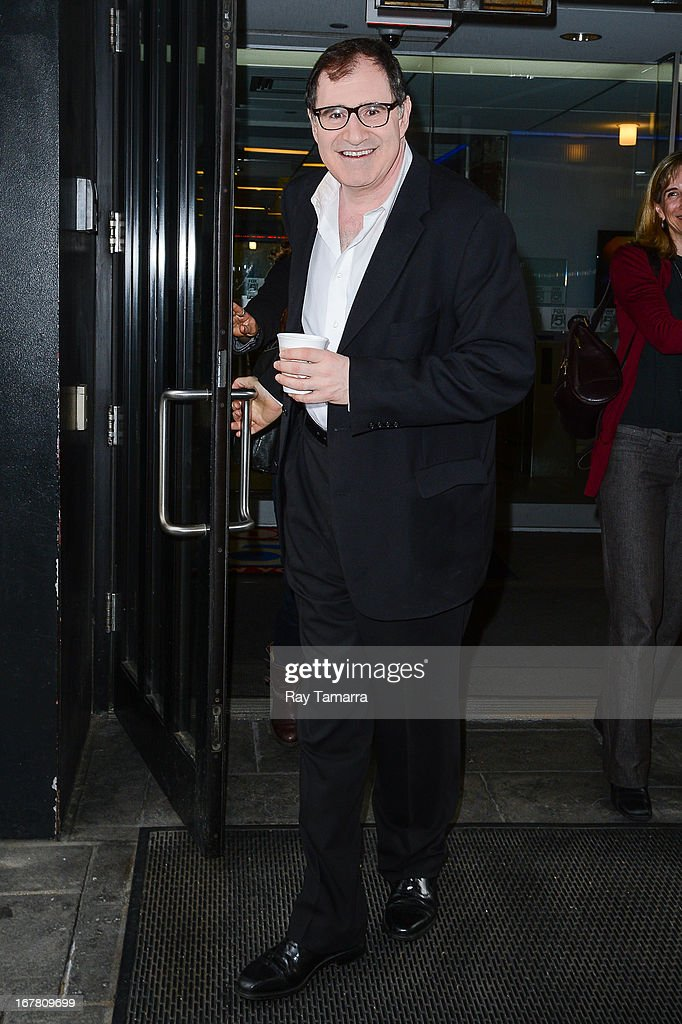 Actor <a gi-track='captionPersonalityLinkClicked' href=/galleries/search?phrase=Richard+Kind&family=editorial&specificpeople=216578 ng-click='$event.stopPropagation()'>Richard Kind</a> leaves the 'Good Day New York' taping at the Fox 5 Studios on April 30, 2013 in New York City.