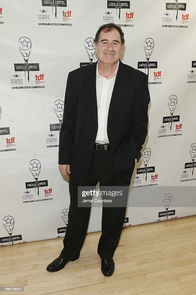 Actor Richard Kind poses backstage at the 28th Annual Lucille Lortel Awards on May 5, 2013 in New York City.
