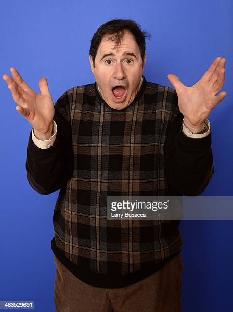 Actor Richard Kind poses for a portrait during the 2014 Sundance Film Festival at the Getty Images Portrait Studio at the Village At The Lift...
