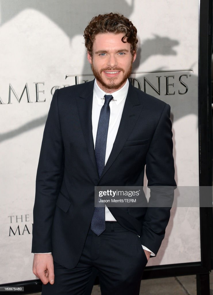 Actor Richard Madden arrives at the premiere of HBO's 'Game Of Thrones' Season 3 at TCL Chinese Theatre on March 18, 2013 in Hollywood, California.