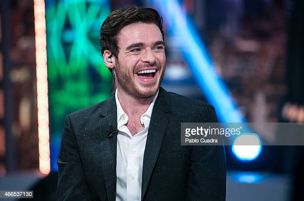 Actor Richard Madden attends 'El Hormiguero' Tv show at Vertice Studio on March 16 2015 in Madrid Spain