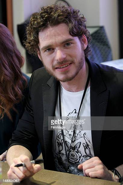 Actor Richard Madden attends HBO's 'Game Of Thrones' during ComicCon International 2012 at San Diego Convention Center on July 13 2012 in San Diego...