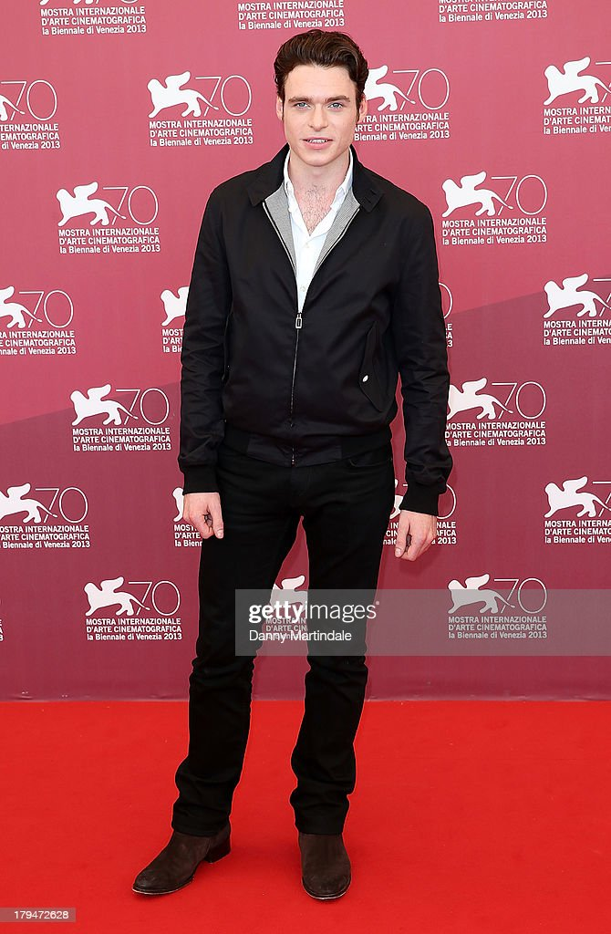 Actor Richard Madden attends 'Une Promesse' Photocall during the 70th Venice International Film Festival at Palazzo del Casino on September 4, 2013 in Venice, Italy.