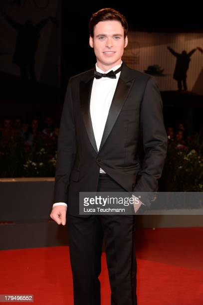 Actor Richard Madden attends 'Une Promesse' Premiere during the 70th Venice International Film Festival at Sala Grande on September 4 2013 in Venice...