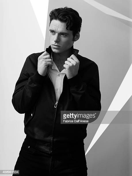 Actor Richard Madden is photographed for Vanity Fair Italy on September 1 2013 in Venice Italy
