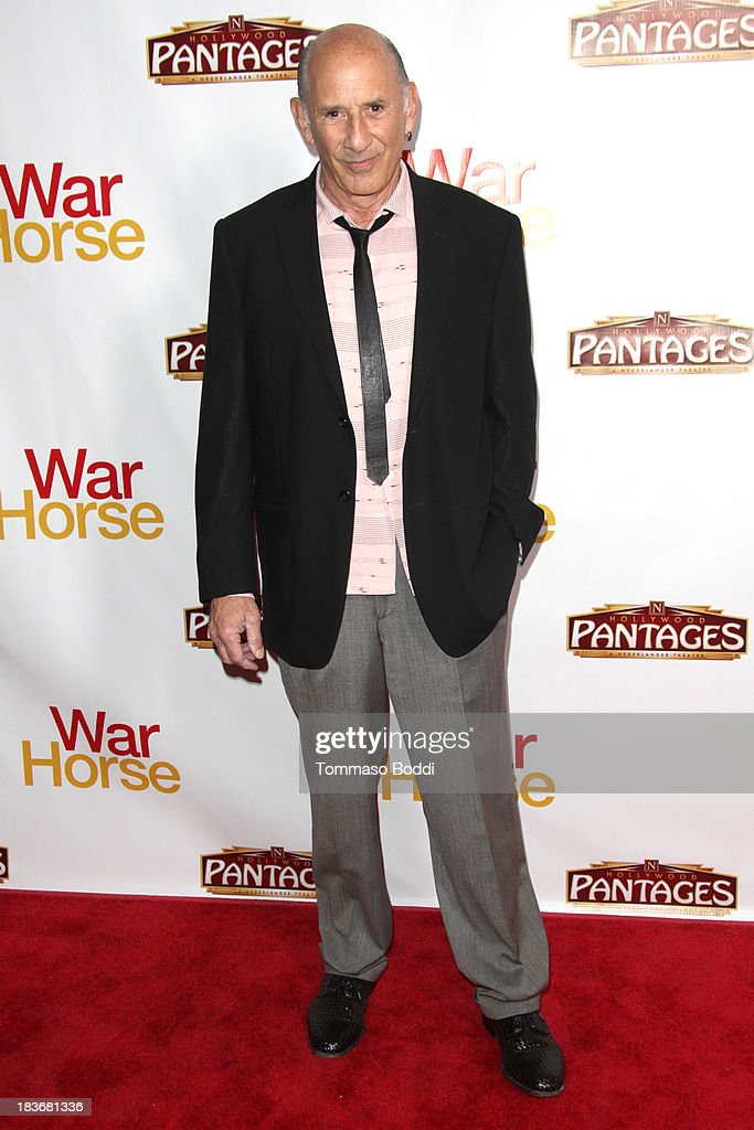 Actor Richard Portnow attends the 'War Horse' Los Angeles opening night held at the Pantages Theatre on October 8, 2013 in Hollywood, California.
