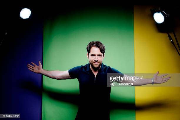 Actor Richard Rankin from the television series 'Outlander' is photographed in the LA Times photo studio at ComicCon 2017 in San Diego CA on July 22...