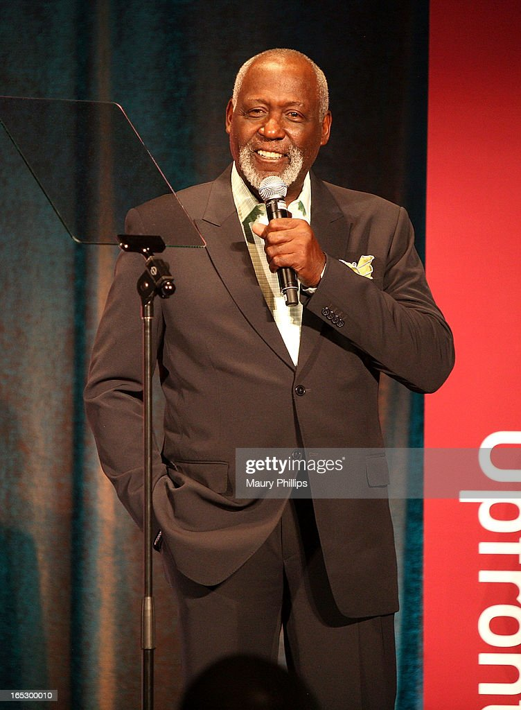 Actor Richard Roundtree attends BET Networks 2013 Los Angeles Upfront at Montage Beverly Hills on April 2, 2013 in Beverly Hills, California.