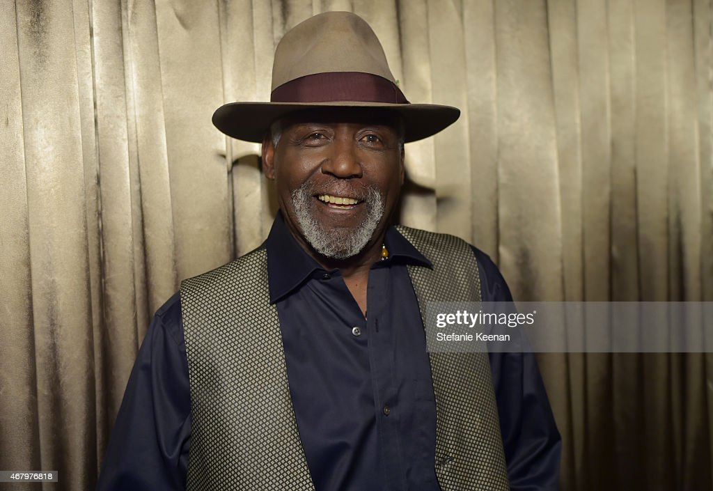 Actor Richard Roundtree attends screening of 'Earthquake' during day three of the 2015 TCM Classic Film Festival on March 28 2015 in Los Angeles...