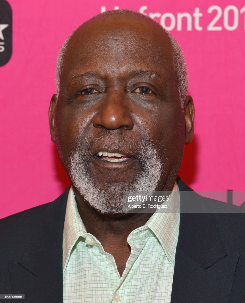 Actor Richard Roundtree attends the BET Networks' 2013 Los Angeles Upfront at Montage Beverly Hills on April 2 2013 in Beverly Hills California