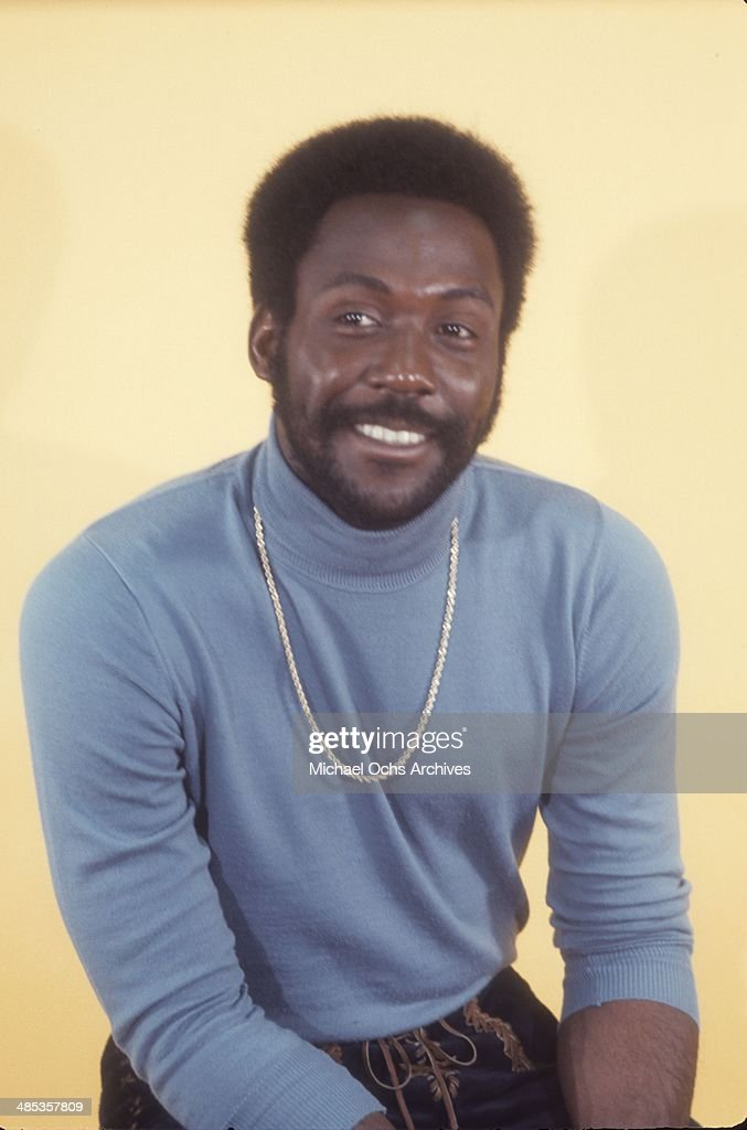Actor Richard Roundtree poses for a portrait session in May 1972 in Los Angeles California
