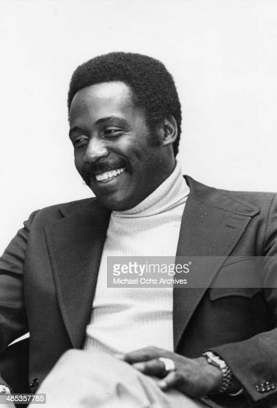 Actor Richard Roundtree poses for a portrait session on May 10 1972 in Los Angeles California