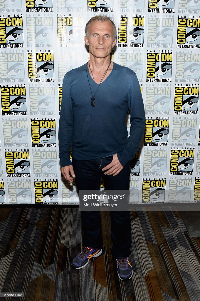 Actor Richard Sammel attends FX's 'The Strain' press line during Comic-Con International 2016 at Hilton Bayfront on July 21, 2016 in San Diego, California. at Hilton Bayfront on July 21, 2016 in San Diego, California.