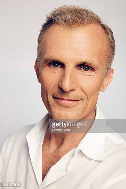 Actor Richard Sammel from FX's 'The Strain' poses for a portrait at the FOX Summer TCA Press Tour at Soho House on August 9 2016 in Los Angeles...