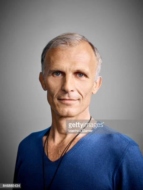 Actor Richard Sammel from 'The Strain' is photographed for Entertainment Weekly Magazine on July 21 2016 at Comic Con in the Hard Rock Hotel in San...
