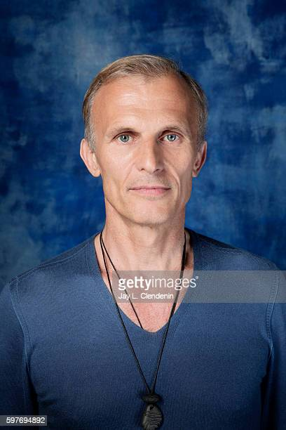Actor Richard Sammel of FX's 'The Strain' is photographed for Los Angeles Times at San Diego Comic Con on July 22 2016 in San Diego California