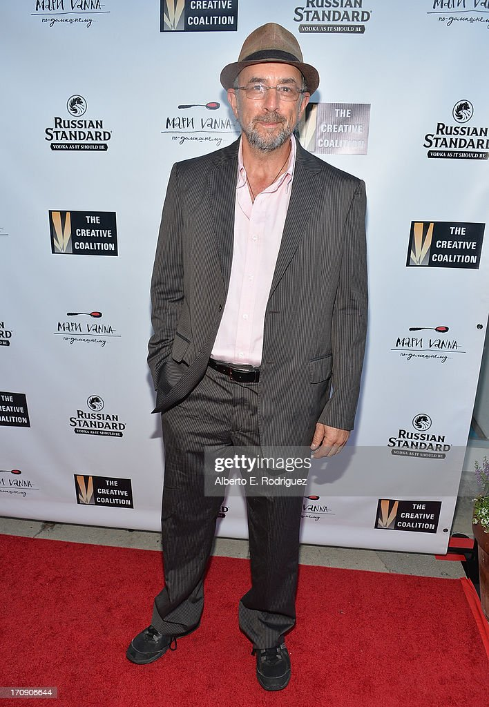 Actor Richard Schiff attends The Creative Coalition's 2013 Summer Soiree at Mari Vanna Los Angeles on June 19, 2013 in West Hollywood, California.