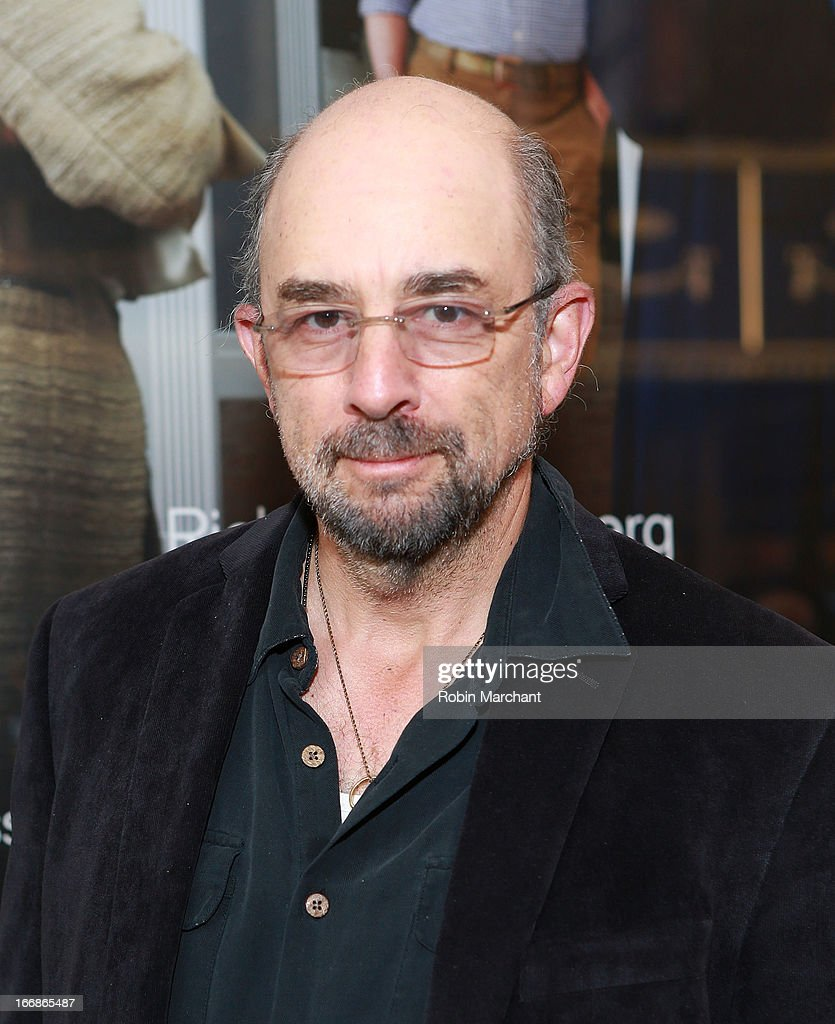 Actor Richard Schiff attends the 'The Assembled Parties' opening night at Samuel J. Friedman Theatre on April 17, 2013 in New York City.
