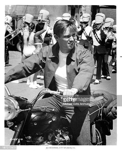 Actor Richard Thomas on set for the Universal Studios movie'September 30 1955' in 1977