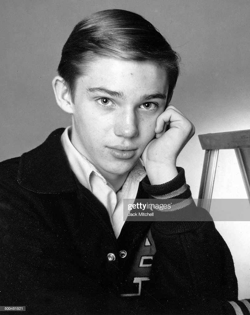 Actor <b>Richard Thomas</b> photographed at age 14, in 1965. - actor-richard-thomas-photographed-at-age-14-in-1965-picture-id500451521