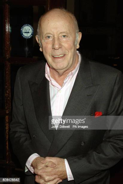Actor Richard Wilson arrives at the Theatre Royal Drury Lane for a memorial show to celebrate the life of the late Mo Mowlam Sunday November 20 2005...