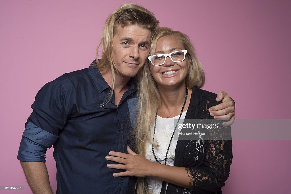 Actor Rick Cosnett and filmmaker La-Toria Haven pose for portraits at Mark Kearney Group 'Iced Out' Luxury Emmy Suite on September 19, 2013 in Los Angeles, California.
