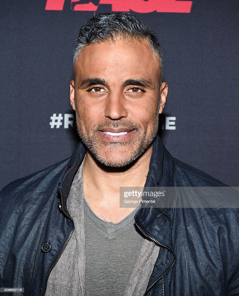 Actor <a gi-track='captionPersonalityLinkClicked' href=/galleries/search?phrase=Rick+Fox&family=editorial&specificpeople=201971 ng-click='$event.stopPropagation()'>Rick Fox</a> attends the Canadian Red Carpet Premiere of 'Race' at Scotiabank Theatre on February 11, 2016 in Toronto, Canada.