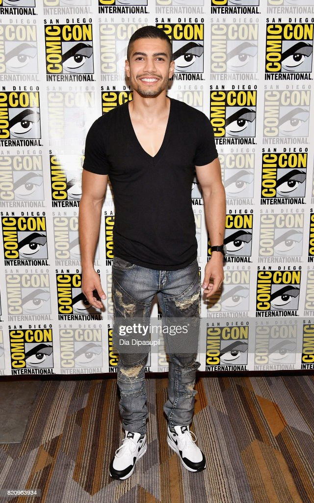 Actor Rick Gonzalez at the 'Arrow' Press Line during Comic-Con International 2017 at Hilton Bayfront on July 22, 2017 in San Diego, California.