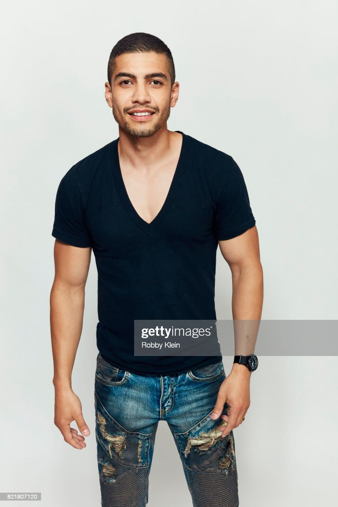 Actor Rick Gonzalez from CW's 'Arrow' poses for a portrait during Comic-Con 2017 at Hard Rock Hotel San Diego on July 22, 2017 in San Diego, California