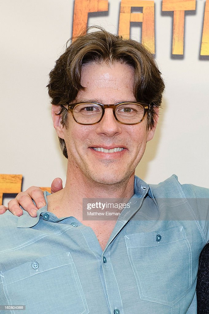 Actor Rick Holmes attends the press preview of new cast of 'Peter And The Starcatcher' at Gibney Dance Center on February 27, 2013 in New York City.