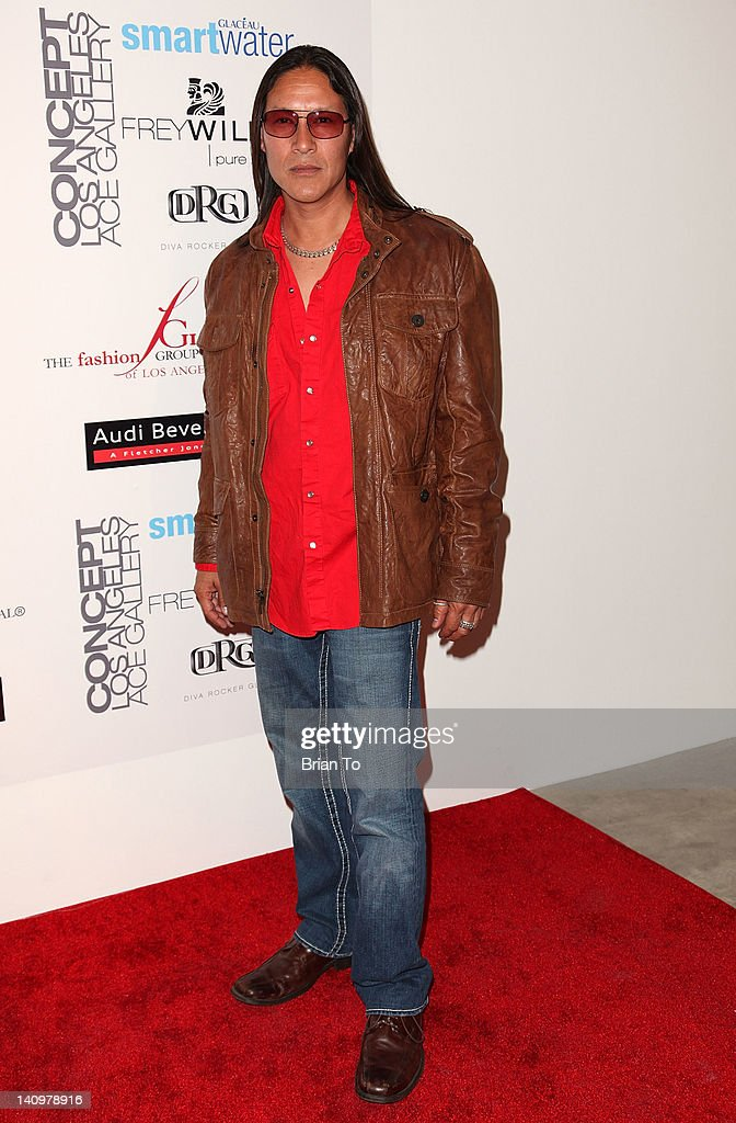 Actor Rick Mora attends Fashion Group International's Meet the Designer & the Muse at Ace Gallery on March 8, 2012 in Los Angeles, California.