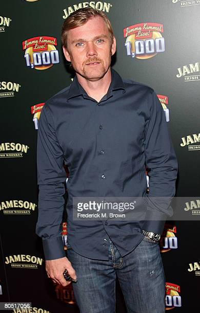Actor Rick Schroder arrives at the celebration of Jimmy Kimmel Live's 1000th episode with Jameson Irish Whisky held at the Hollywood Roosevelt Hotel...
