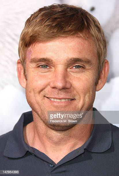 Actor Rick Schroder attends the Premiere Of Warners Bros Pictures' 'To The Arctic' at the California Science Center Imax Theater on April 15 2012 in...