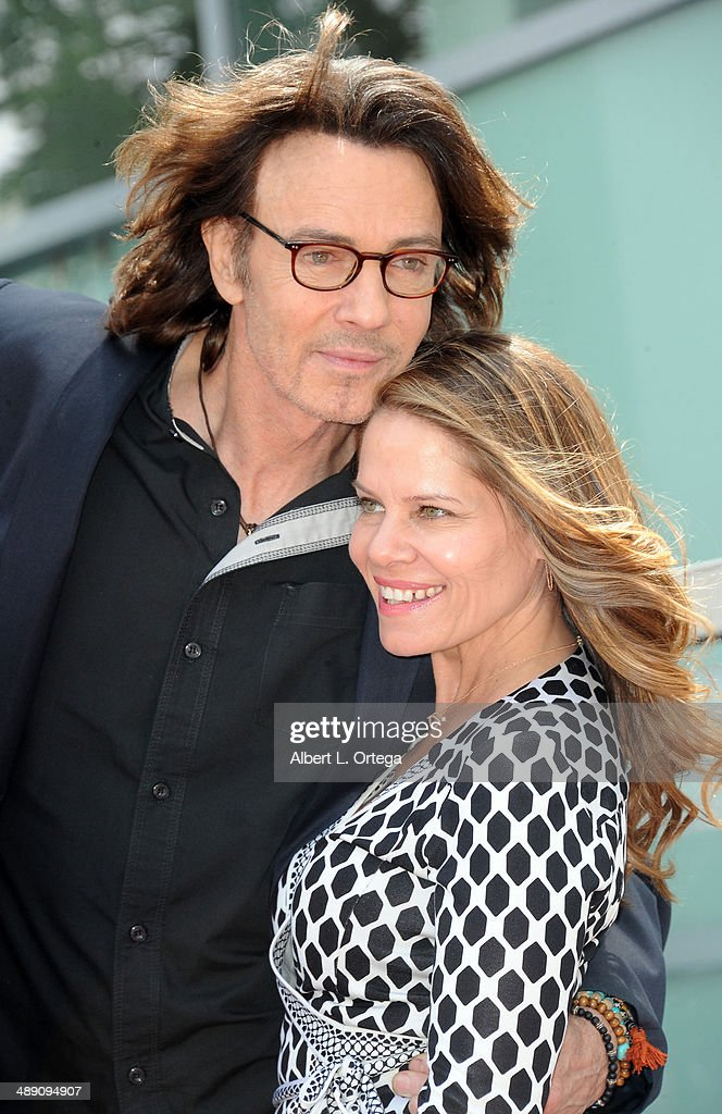 Actor Rick Springfield and wife Barbara Porter attend the ceremony honoring Rick Springfield with a Star on The Hollywood Walk of Fame on May 9, 2014 in Hollywood, California.