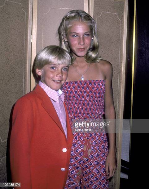 Actor Ricky Schroder and sister Dawn Schroder attend the 'Endless Love' New York City Premiere on July 16 1981 at Gemini Theater in New York City New...
