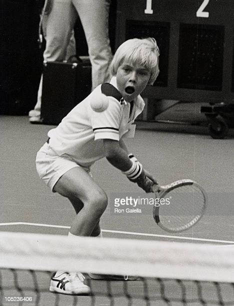 Actor Ricky Schroder attending Eighth Annual RFK Tennis Tournament on August 25 1979 at Flushing Meadows in New York City New York