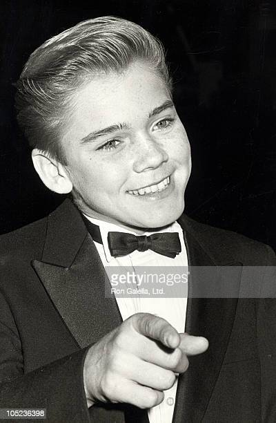 Actor Ricky Schroder attending 'The Children Awards For Kids' on December 2 1984 at the Sheraton Premiere Hotel in Los Angeles Californa