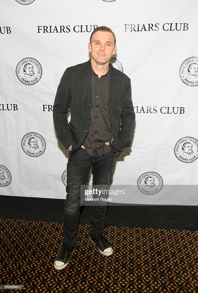 Actor Ricky Schroder attends So You Think You Can Roast? at the New York Friars Club on March 1, 2013 in New York City.