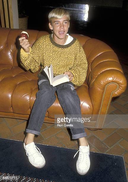 Actor Ricky Schroder attends the 37th Annual Primetime Emmy Awards Rehearsals on September 21 1985 at Pasadena Civic Auditorium in Pasadena California